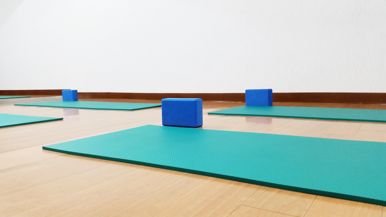 yoga evolution瑜伽教室-墊子輔具
